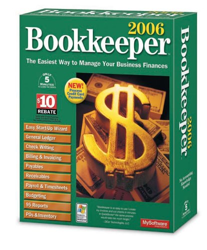 Bookkeeper 2006 Manage Your Business Finances