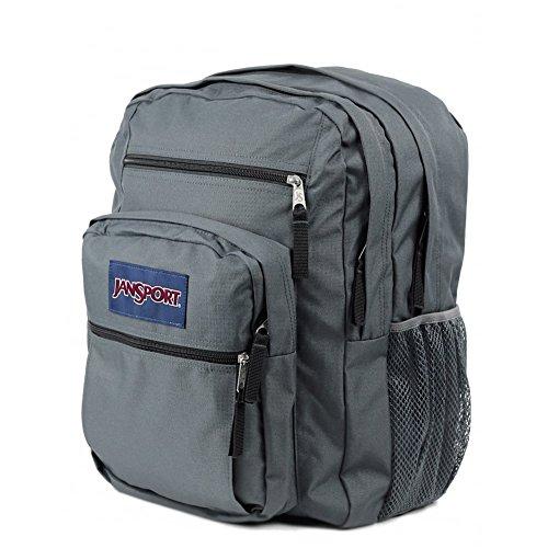 JanSport Big Student Classics Series Backpack - Forge Grey (B004SU7QQE)  32b0673e0da8f