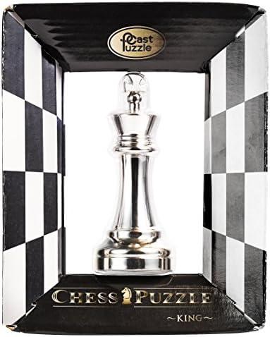 Hanayama 111467 Cast Puzzel Chess Koning