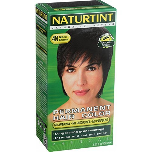 NATURTINT HAIR COLOR,4N,NATL CHSTNT, 5.28 FZ by Naturtint