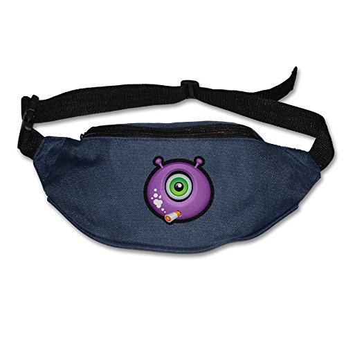 [XJBD Men's&Women's Waist Pack Monster Exercise Fanny Pack Navy] (Custom Werewolf Costumes For Sale)