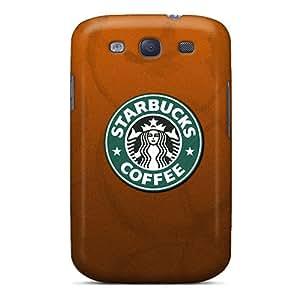 Samsung Galaxy S3 SjG11443OMQt Custom Attractive Starbucks Coffee Series Durable Hard Phone Covers -DrawsBriscoe