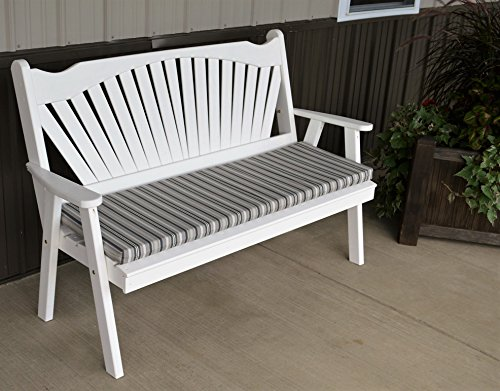 Best garden bench 5 39 fanback porch benches for outdoor for Best poolside furniture