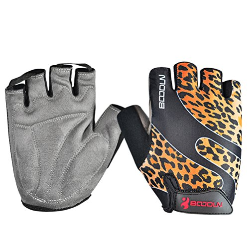 Men's Half Finger Outdoor Anti-Slip Breathable Cycling Gloves Fitness Sunscreen Racing Sports Gloves
