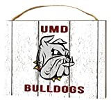 KH Sports Fan 4''X5.5'' Minnesota (Duluth) Bulldogs Weathered Logo Small College Plaque