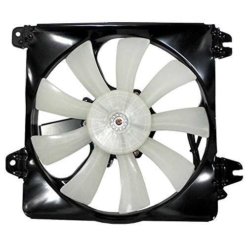 (AC A/C Condenser Cooling Fan Assembly Replacement for Mitsubishi Chrysler Dodge MR315303 AutoAndArt)