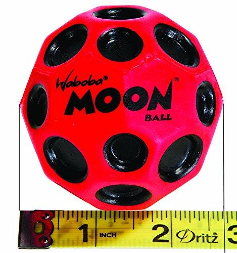 Waboba MOON Extreme Bounce Bundle of 4 Balls _ in 4 Neon Colors _ BONUS Soft Nylon Net Drawstring 9 x 12'' Royal Blue Carry Bag by Waboba (Image #7)