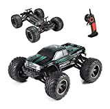 Hosim All Terrain RC Car 9112, 38km/h 1/12 Scale Radio Controlled Electric Car - Offroad 2.4Ghz 2WD Remote Control Truck for Kids and Adults (Red) (Green)