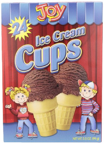 Joy Cone, Cake Cup Cone, 24 ct, 3.5 oz ()