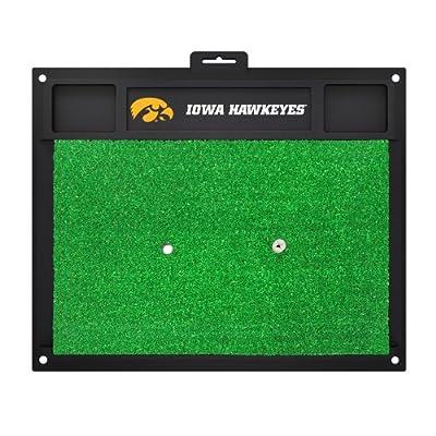 FANMATS 15505 University of Iowa Golf Hitting Mat