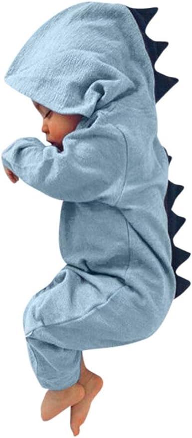Nouveau-Né Nourrisson Bébé Garçon Fille Dinosaures à Capuche