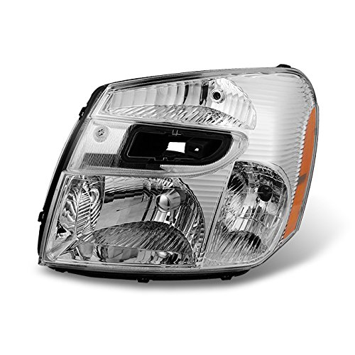 For 2005 2006 2007 2008 2009 Chevy Equinox SUV Clear Left LH Driver Side Headlight Headlamp Replacement ()