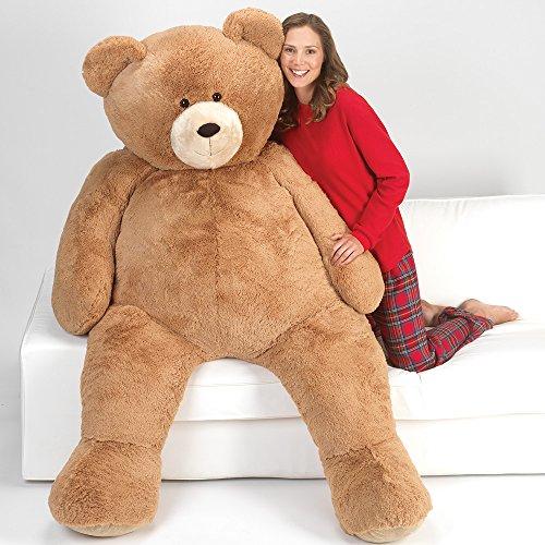 51JKFbtxSrL - Vermont Teddy Bear - Huge Love Bear, 6 Feet Tall, Brown