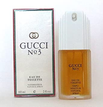GUCCI NO 3 2. OZ EAU DE TOILETTE SPRAY