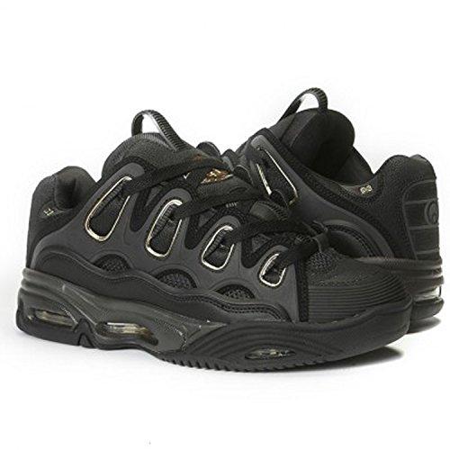 Osiris , Chaussures de skateboard pour homme noir Blk/Gld