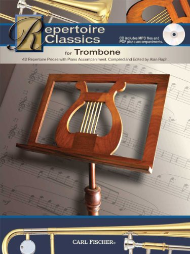 WF118 - Repertoire Classics for Trombone (42 Recital Pieces with Piano Accompaniment)