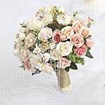 mamamoo-Wedding-Bouquet-Handmade-Artificial-Flower-Rose-Bouquet-Bridal-Bouquet-for-Wedding-DecorationPink-2