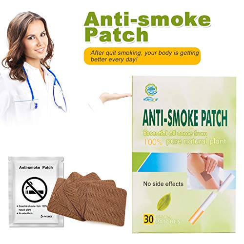 KONGDY 30PCS Anti Smoke Patch Stop Smoking Aids Smoking Patch Reliever Nicotine Patch Therapy Natural Ingredient Quit Smoking Patch