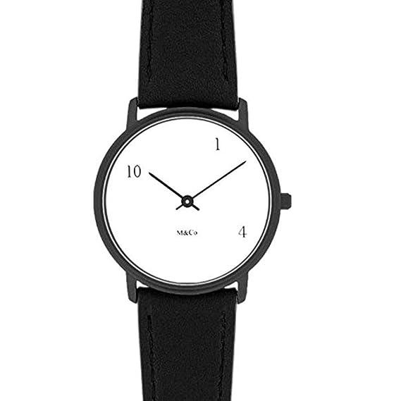 Projects Watches (Tibor Kalman) 10-One-4 MoMA Design Collection Unisexo Reloj: Tibor Kalman: Amazon.es: Relojes