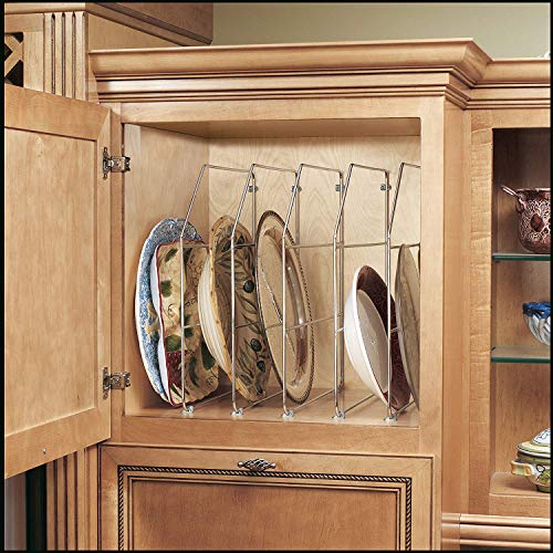 Rev-A-Shelf - 597-18CR-52 - Single 18 in. Chrome Bakeware and Tray Divider -