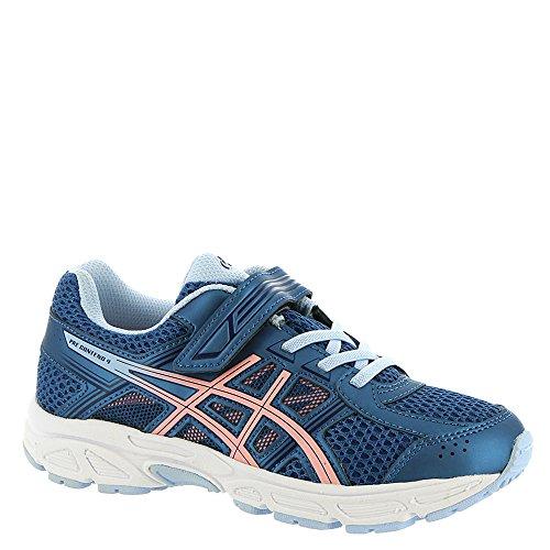 (ASICS Girl's, Gel Contend 4 GS Running Sneakers Azure 3 M)