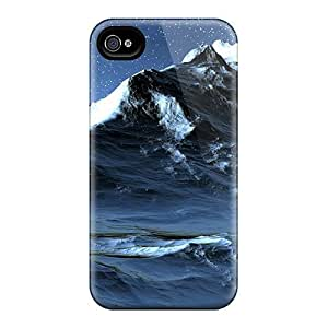 BretPrice Fashion Protective Mountain In Stars Case Cover For Iphone 4/4s