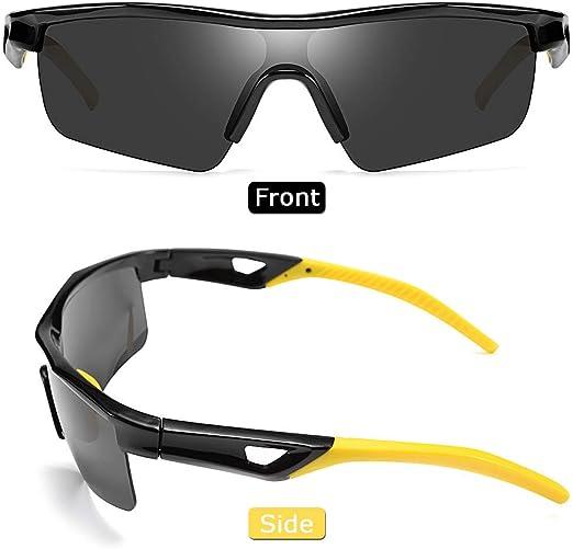 FEISEDY Kids Teens Sports Polarized Sunglasses TR90 Frame Boys Girls Cycling B2454