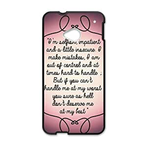 Happy Artistic note Cell Phone Case for HTC One M7