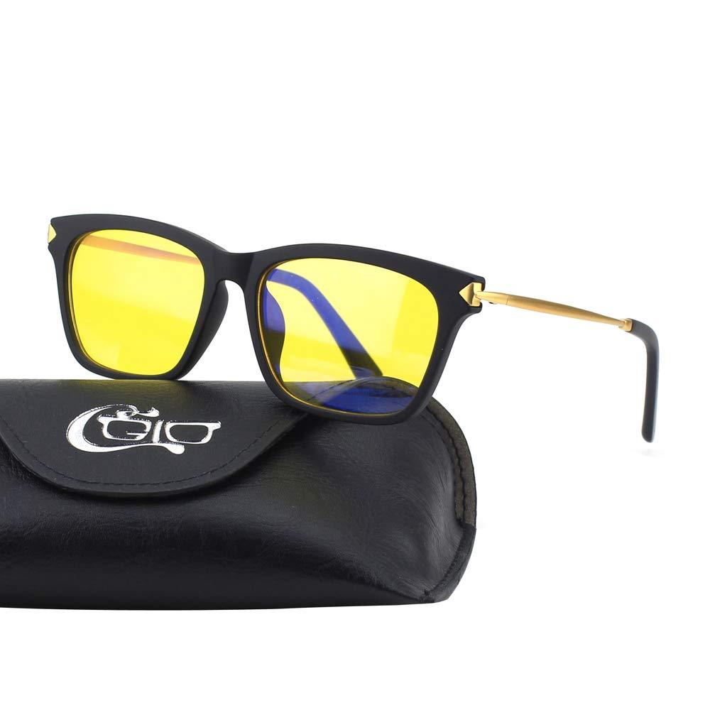 CGID CT34 Gafas Premium con Armazó n TR92 para Protecció n contra Luz Azul 16BL34-2B