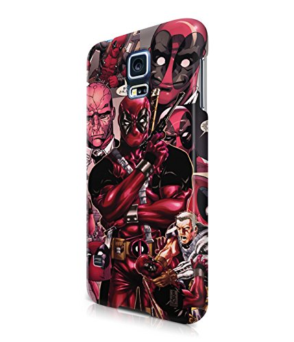 Deadpool Collage Comics Superhero Plastic Snap-On Case Cover Shell For Samsung Galaxy S5