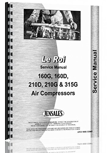 - Leroi 160G Air Compressor Service Manual