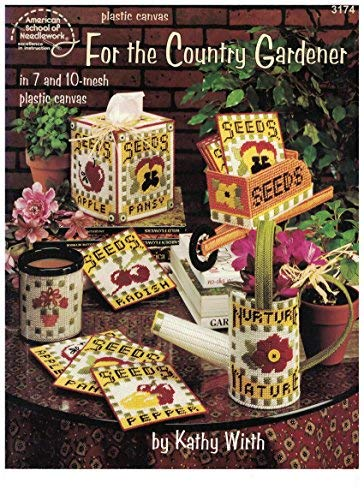 for The Country Gardener Plastic Canvas Pattern by American School of Needlework – #3174