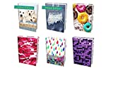 from The Original Home of Book Sox - 6 Nice Selections of Assorted Jumbo Prints Stretchable Book Covers. Including 2 Limited Editions (Puppies and Jeans)