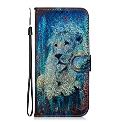 NEXCURIO Wallet Case for Galaxy A7 (2018...