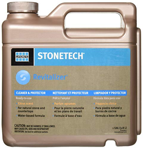 (StoneTech RTU Revitalizer, Cleaner & Protector for Tile & Stone, 1-Gallon (3.785L), Citrus Scent)