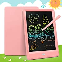 Bravokids LCD Writing Tablet, 10 Inch Colorful Screen Writing Doodle Board, Electronic Doodle Pads Light Drawing Board...