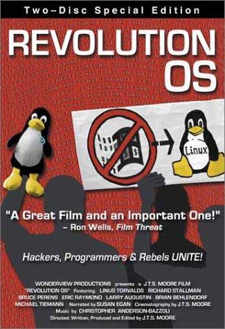 DVD : Bruce Perens - Revolution Os (DVD)