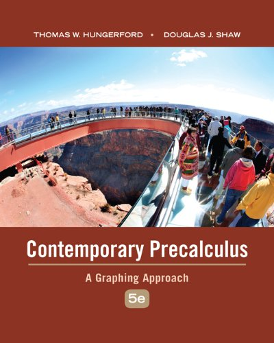 Contemporary Precalculus: A Graphing Approach Pdf