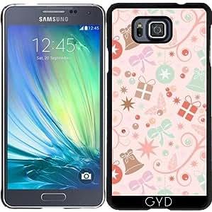 Funda para Samsung Galaxy Alpha - Modelo Inconsútil De La Navidad by Elisabeth Coelfen