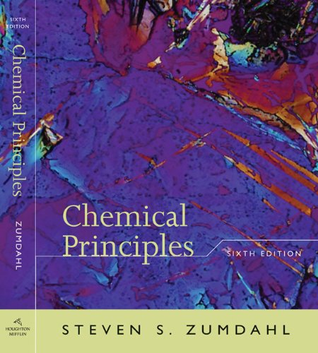 Student Solutions Manual to accompany Zumdahl's Chemical...