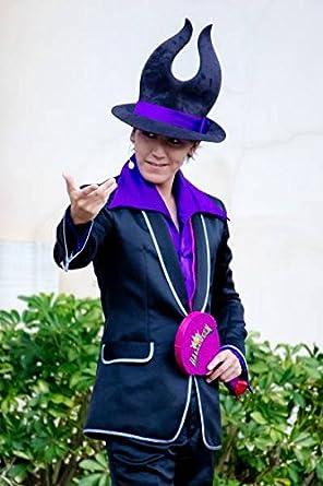 コスプレ ディズニー ヴィランズの手下のマルフィ 衣装+帽(男M)