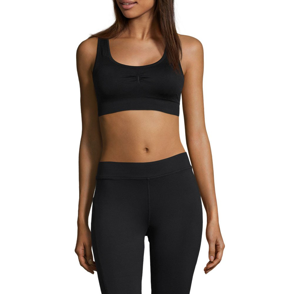Casall - Smooth Sports Bra, Color Negro, Talla UK-8: Amazon ...