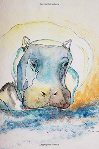 Read Online Sweet Hippo Watercolor Art Journal: 150 Page Lined Notebook/Diary pdf epub