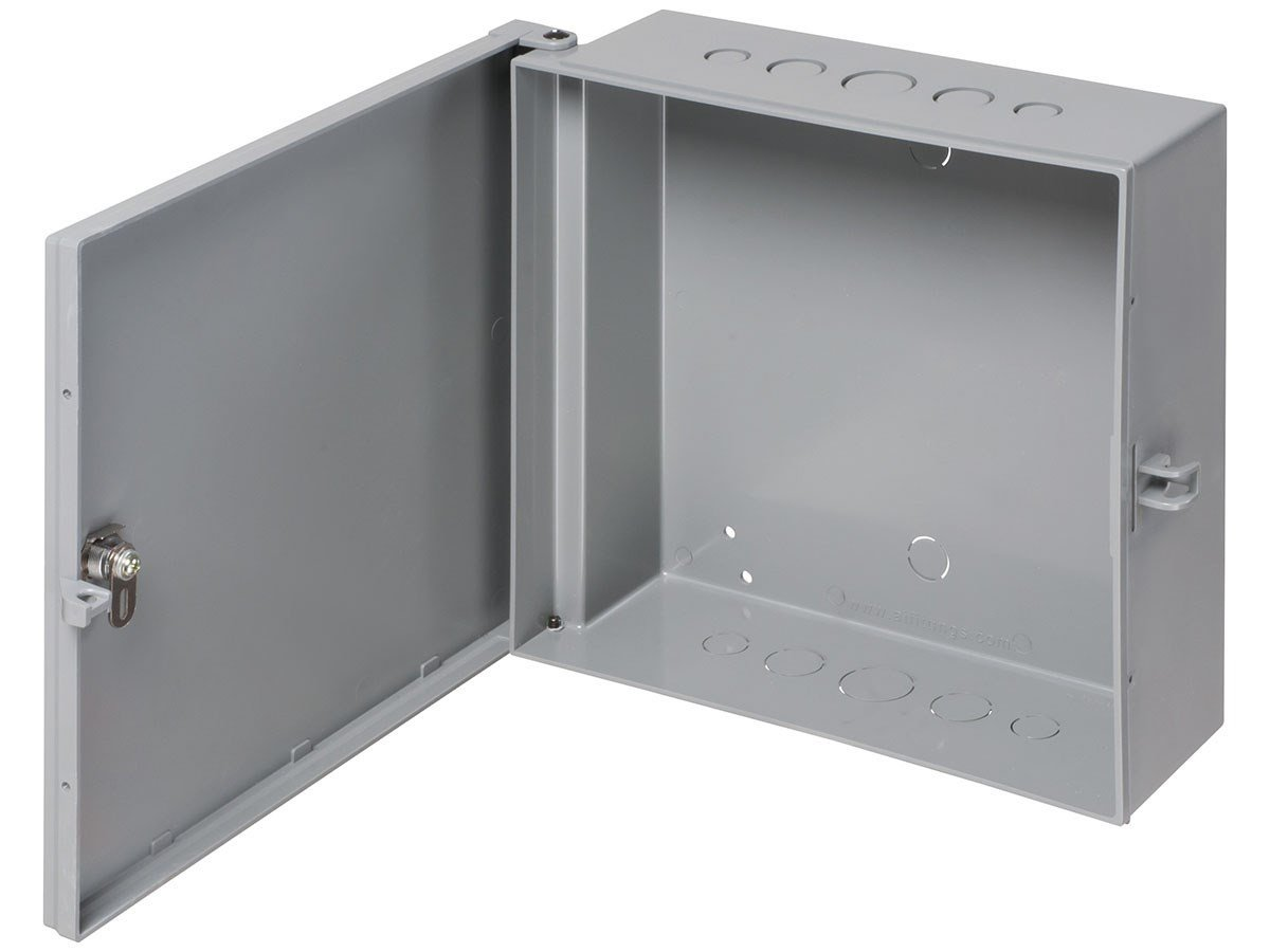 Monoprice Heavy-Duty 11'' x 11'' Enclosure Box Home Business Surveillance