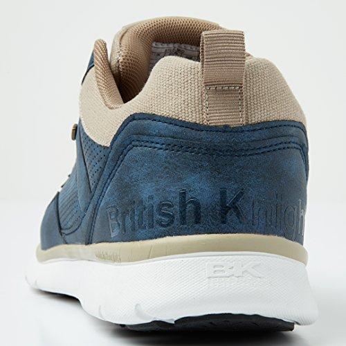 Beige Navy High Men's Mid Steel British Top Sneaker Knights xnwTSa6qp8