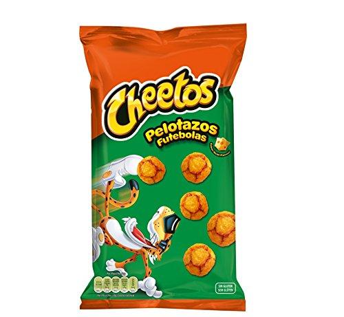 Cheetos Pelotazos - Producto de aperitivo horneado con sabor a queso - 130 g: Amazon.es: Alimentación y bebidas