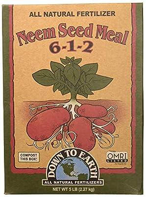 Neem Seed Meal Fertilizer, 5 lb.