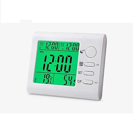 JiuErDP Termómetro Digital seco, Interior y húmedo para el ...