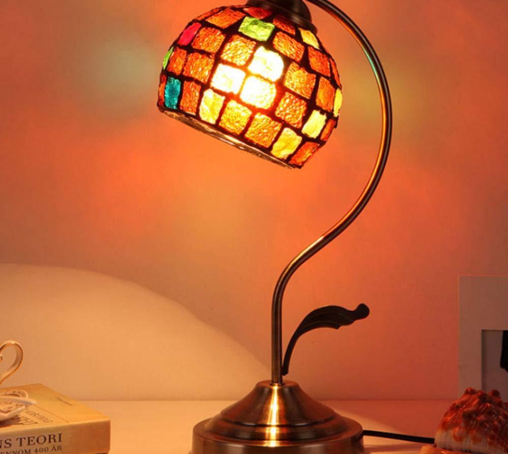 Lámpara de mesa E27 Lámpara de sobremesa de metal barroco ...