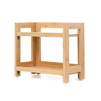 Yunnasi Regal Organizer Buro Badezimmer Aufbewahrung Aus Holz